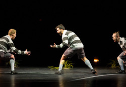 HATTRICK »A Dance Tribute to the Art of Football«: Neel Jansen, Giovanni Insaudo, Matteo Carvone